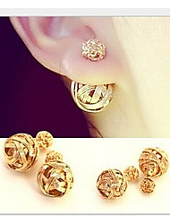 LJD Double Pearl earing
