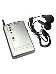 GSM RF Signal Bug Detector with wireless signal finder, camera detector