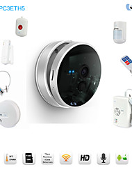 Snov 720P Wireless Nightvision IP Camera Alarm Tempreature & Humidity Sensor, Security IP Camera Alarm, CMS & APP