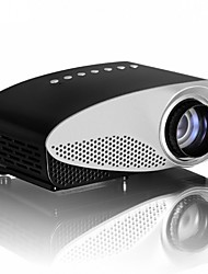 LCD HVGA (480x320) Projecteur,LED 120lm Mini Portable HD Projecteur
