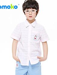 He's the boy child in the new summer wear short sleeved shirt casual shirt shirt shirt