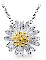 Little Daisy Sunflower Fashion Chrysanthemum Pendant Necklace