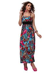 TS Halter Dress , Polyester Above Knee Sleeveless