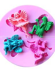 Angel Shape Fondant Mold Cake Decoration Mold