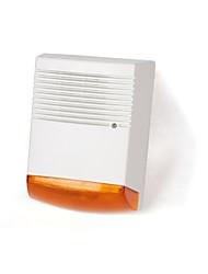 Brogen ™ ao ar livre da bateria sirene individuais de backup leds alternadas manequim