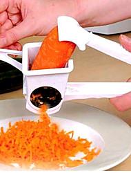 tambor rotativo ralador de queijo trituradora manual do veggie rotativo (cor aleatória)