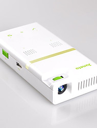 Juneto® H150 Android 4.4 DLP Projector 854x480 WiFi 200 Lumens with USB HDMI Built-in Speaker White