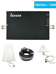 New Arrival GSM Booster 900 1800 Amplifier Booster GSM 900 DCS 1800 mhz Lintratek Dual Band Signal Booster Full Kits