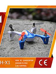 lh-x1 melhor qualidade 2,4 g de 4 canais de 6 eixos giroscópio 360 eversão mini-rc zangão zangão com luz LED