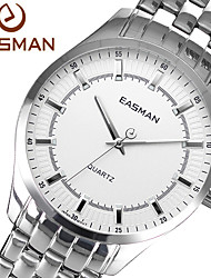 EASMAN Brand 2015 Watch Mens New Fashion Designer Luxury Brand Men Watches Watch White for Men Wristwatch