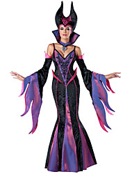 Halloween/Carnaval - para Mujer - Disfraces de Cuento de Hadas - Disfraces - Vestido/Mangas/Fajas/Sombrero -