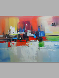 Hand-Painted Oil Painting on Canvas Wall Art Abstract Contempory One Panel Ready to Hang