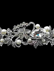 Women's Rhinestone/Alloy/Imitation Pearl Headpiece - Wedding Headbands 1 Piece