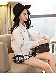 Women's Clothing Style Sleeve Length Outerwear Type , Fabric Thickness