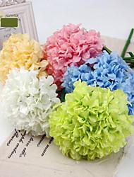 """25,6 """"h haute qualité décoration fleur d'hortensia 2 pièce"""