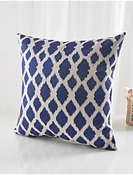 moderno padrão marinha algodão / fronha decorativo linho