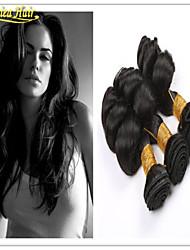 3pcs / brasileño onda floja 3pcs pelo de la trama 8a pelo virginal precio barato extensión lot del pelo humano del pelo