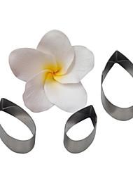 quatro c cortador flor blossing gota, ferramentas de decoração do bolo, ferramentas de cozimento fondant cortador de molde queque