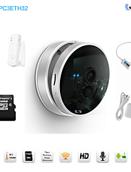 Snov 720P Wireless IR IP Camera Home & Business Cube IP Camera Alarm, Good Business & Home Gift, Motion Detection, APP