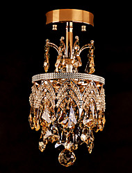 Pendant Lights Crystal Traditional/Classic Bedroom/Dining Room/Study Room/Office/Kids Room/Hallway Crystal