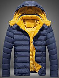 Повседневный / Деловая - MEN - Пальто и жакеты ( Смешанная хлопковая ткань Толстовка - Длинный рукав
