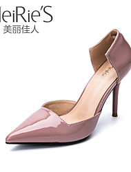 Women's Shoes Faux Leather/Leatherette Stiletto Heel Heels/Pointed Toe/Closed Toe Pumps/Heels