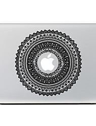 Circular Flower 2 Decorative Skin Sticker for MacBook Air/Pro/Pro with Retina Display
