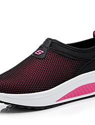 Feminino Tênis Conforto Solados com Luzes Tule Primavera Verão Outono Ar-Livre Escritório & Trabalho Casual Caminhada AnabelaFúcsia Azul