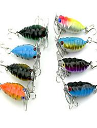1pcs Fishing Bait Plastic Lures (Random Color)