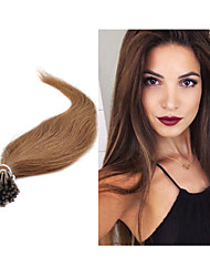 "18""-30"" Brazilian Virgin Hair Pre-bonded Stick Hair I tip Hair Extensions Natural Hair Extensions In Stocks"