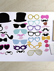 36 Sets Of Interesting Birthday Party Welcome Creative Wedding Pictures Props Lips