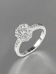New Design Women Dress S925 Silver Plated Statement Ring Wedding & Engagement Ring Trendy Rings