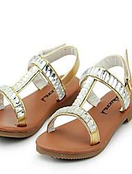 Chaussures bébé - Argent / Or - Décontracté - Similicuir - Sandales
