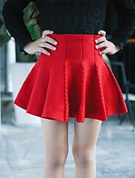 Girl's Cotton Skirt , Spring/Fall