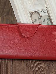 Unisex-Formell / Gewerbliche Verwendungen-Brieftasche-Kuhfell