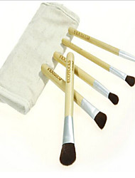 5 Makeup Brushes Set Nylon Eco-friendly Face / Eye Others