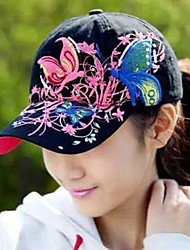 Unisex Cotton Ivy Cap , Casual All Seasons Emboridery Adjustable Baseball Cap