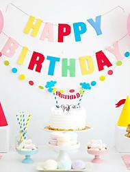 Accessori per feste Accessori decorativi per torte Compleanno Favola Other Non personalizzato Carta/Cartancino Multicolore 1Pezzo/Set