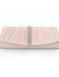 Women's Elegant With Diamond Fold Fashion Handbags