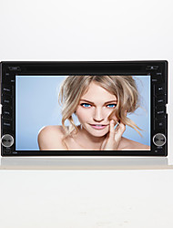 "6.2"" Motorized Touch Screen 2-Din Car DVD Player -GPS-BT-TV-Bluetooth-FM-6205H"