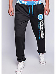 Men's Sweatpants , Sport Print Cotton