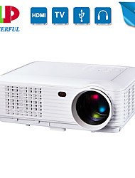 1280*800 Native Resolution Projector Full Hd Projector Home Cinema LED 3D,Business portable 1080p Beamer