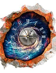 PAG®Modern Design 3D Effect Nebula Pattern Clock Sticker 14.96*14.96 in