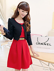 Women's The New Two-Piece Long-Sleeved Dress