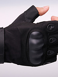 Tactical Gloves Army Military Outdoor Men's Full Finger Motorcycle Bike Work Leather Gloves Gym Mittens