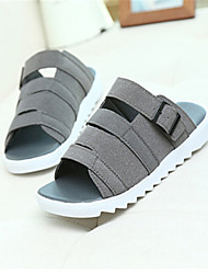 Men's Shoes Casual  Sandals Black/Yellow/Gray