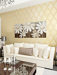 Contemporary Wallpaper Art Deco 3D Elegant Flower Wallpaper Wall Covering Non-woven Fabric Wall Art
