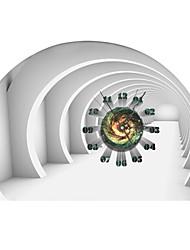 pag®modern дизайн 3D-эффект космос шаблон часы стикер 21.18 * 14.96 в