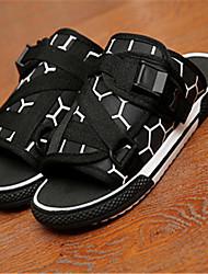 Zapatos de Hombre - Sandalias - Casual - Semicuero - Negro