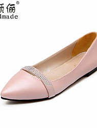 Women's Shoes Synthetic Flat Heel Comfort Flats Outdoor/Dress/Casual Blue/Pink/Purple/White